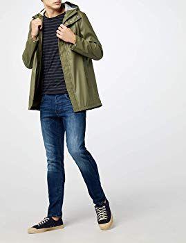 1af08b04160 G-STAR RAW Herren Slim Jeans 3301 Amazon Exclusive Style, Blau (Medium Aged