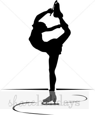 beautiful ice skater u003c3 ice ice baby pinterest ice skaters rh pinterest com ice skating clipart black and white figure skater clipart