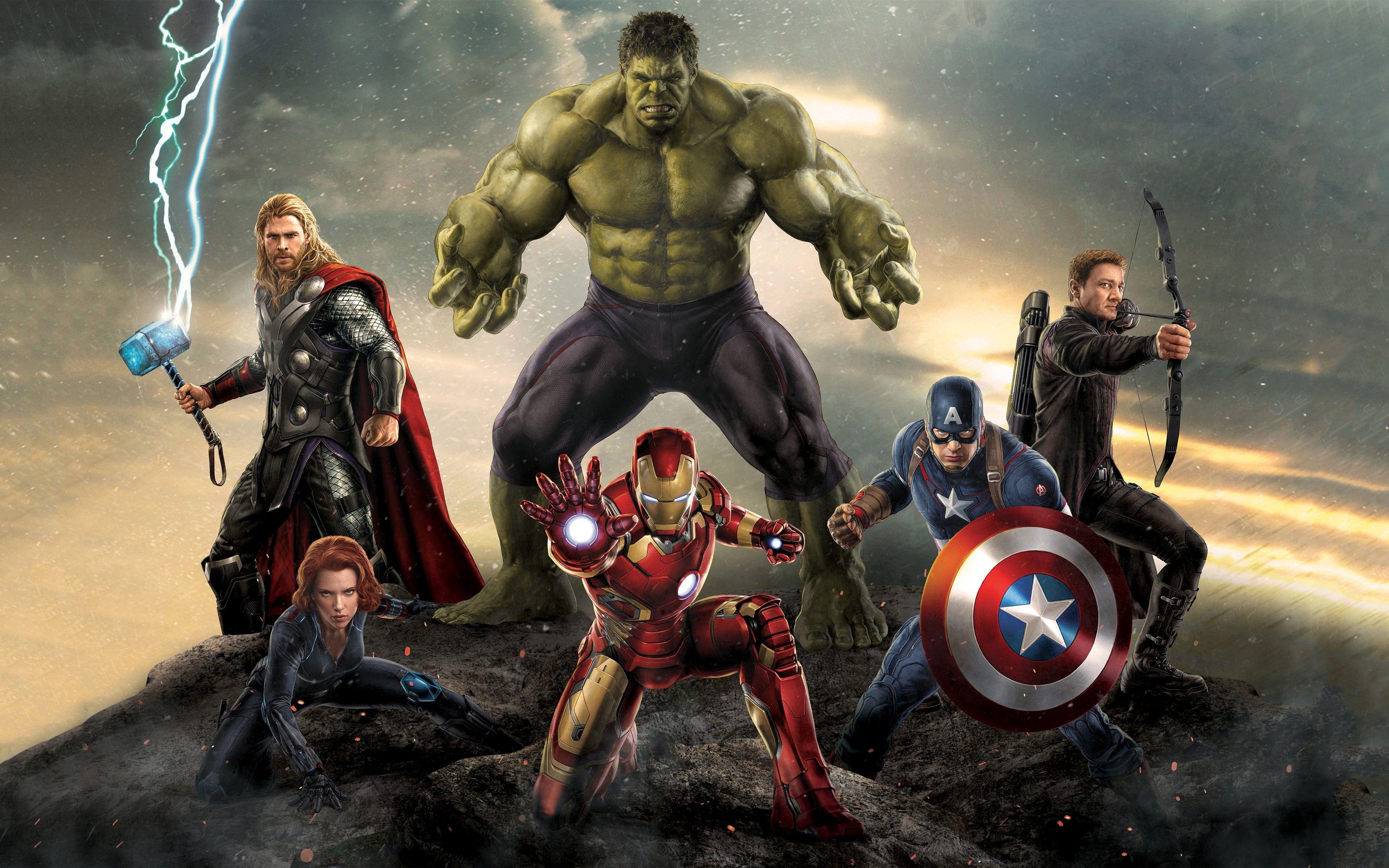 Marvel Avengers Wallpaper Avengers Age Of Ultron The Avengers
