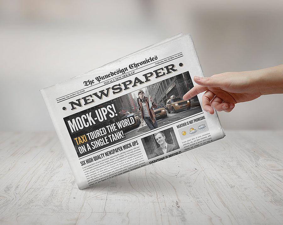 NewspaperMockup   Mockup    Mockup Newspaper