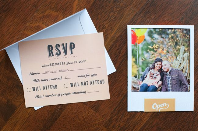 Non Traditional Wedding Invitation Wording: Wonderin' About A Wedding Day...