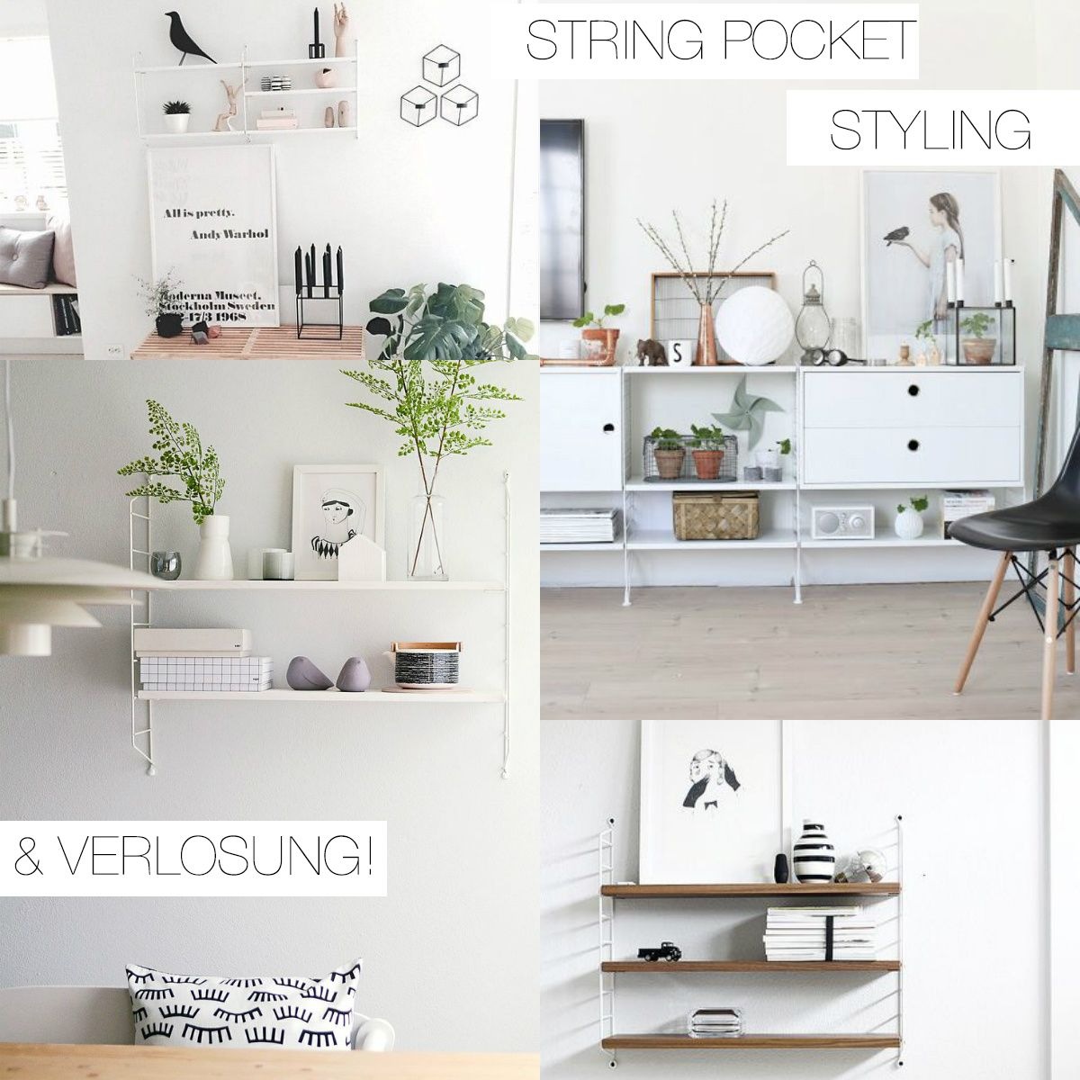 String Pocket Regal Styling U0026 VERLOSUNG | Pinspiration Images