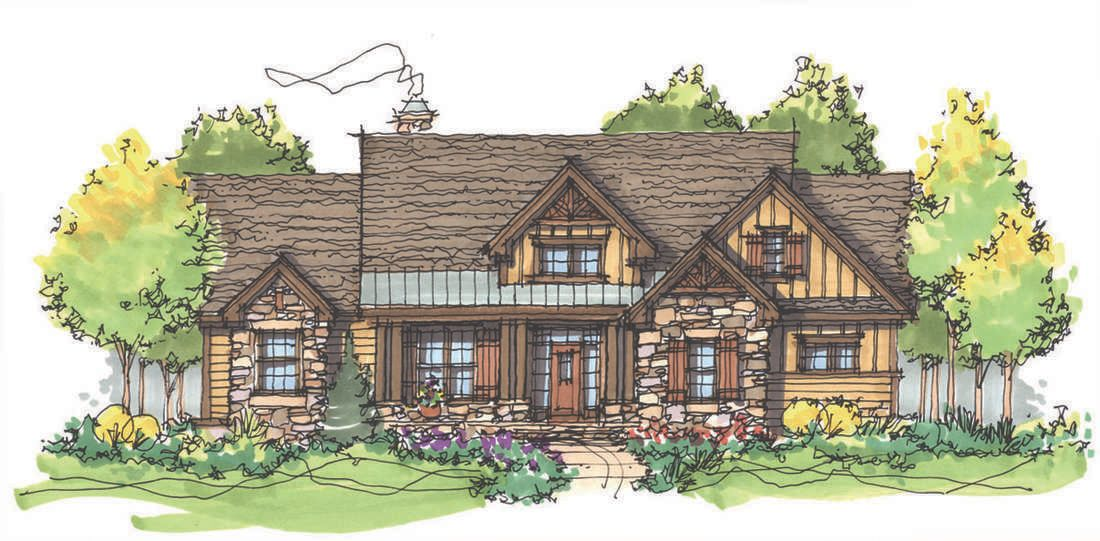 The Cloverbrook House Plan by Donald A