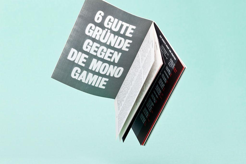 Schampus Magazine #68  »6 good reasons against monogamy«  Spread, by Bergmann Studios 2010