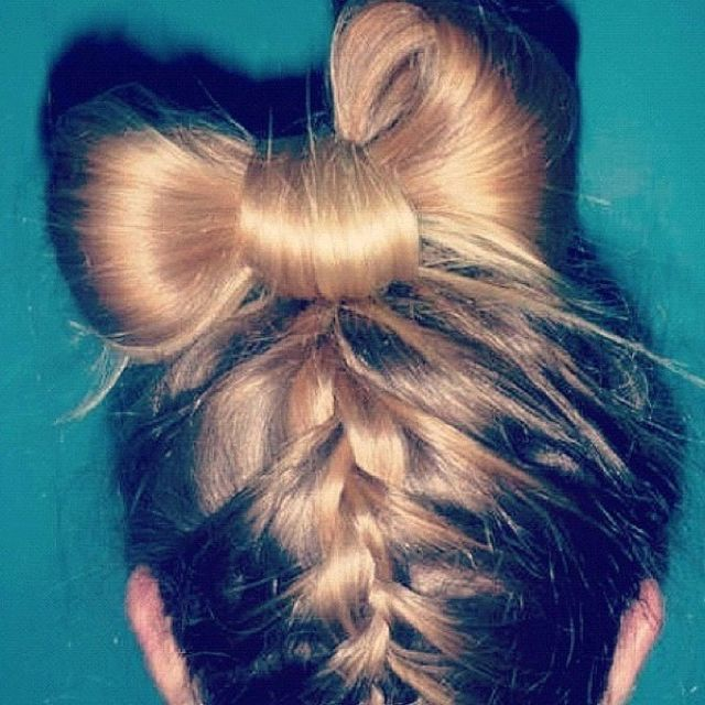 Braid and a bow(: