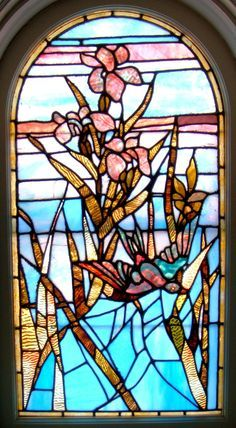 Pin By Kathryn Hooper On The House Of Owls Stained Glass Flowers Stained Glass Art Stained Glass