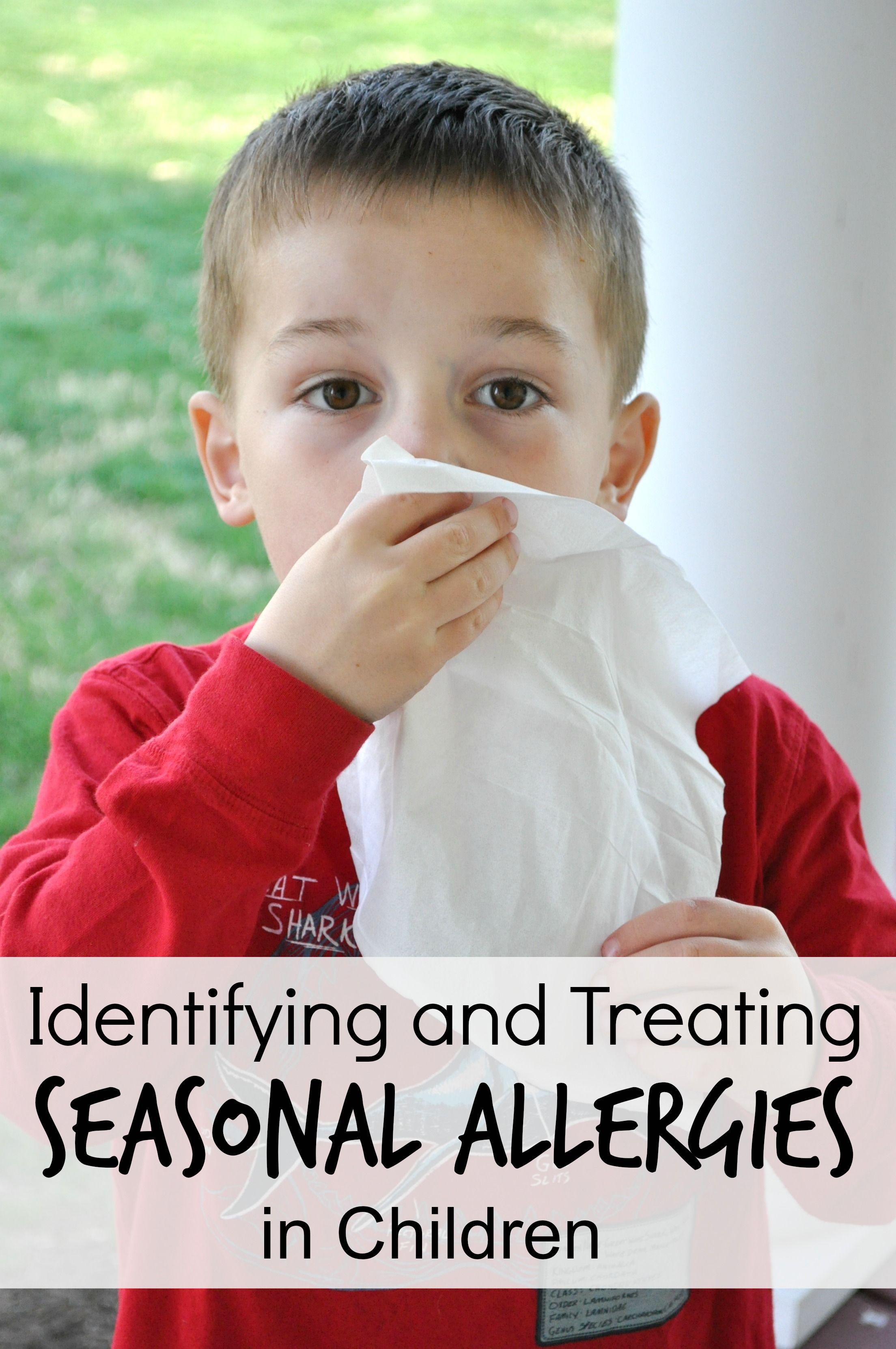 Identify the allergen and fight allergies in children
