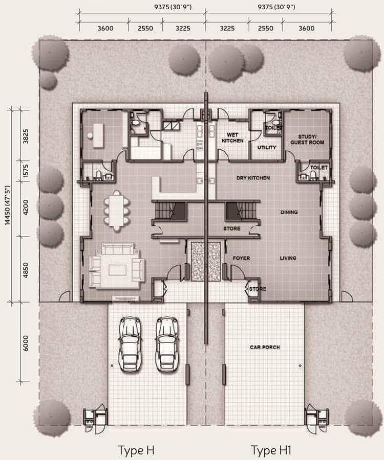 14 Practical Wet And Dry Kitchens In Malaysia Recommend My Kitchen Ideas Malaysia Remodeling Plans Kitchen Floor Plans