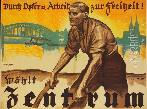 Center Party [<I>Zentrum</i>] Election Poster (no date)