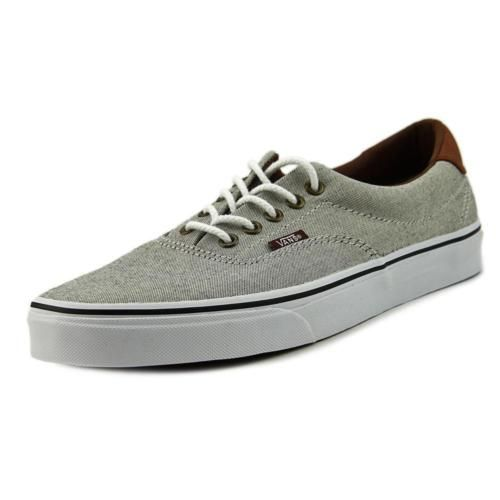 7ff6957ce7 Vans-Era-59-Men-Round-Toe-Canvas-Gray-Skate-Shoe