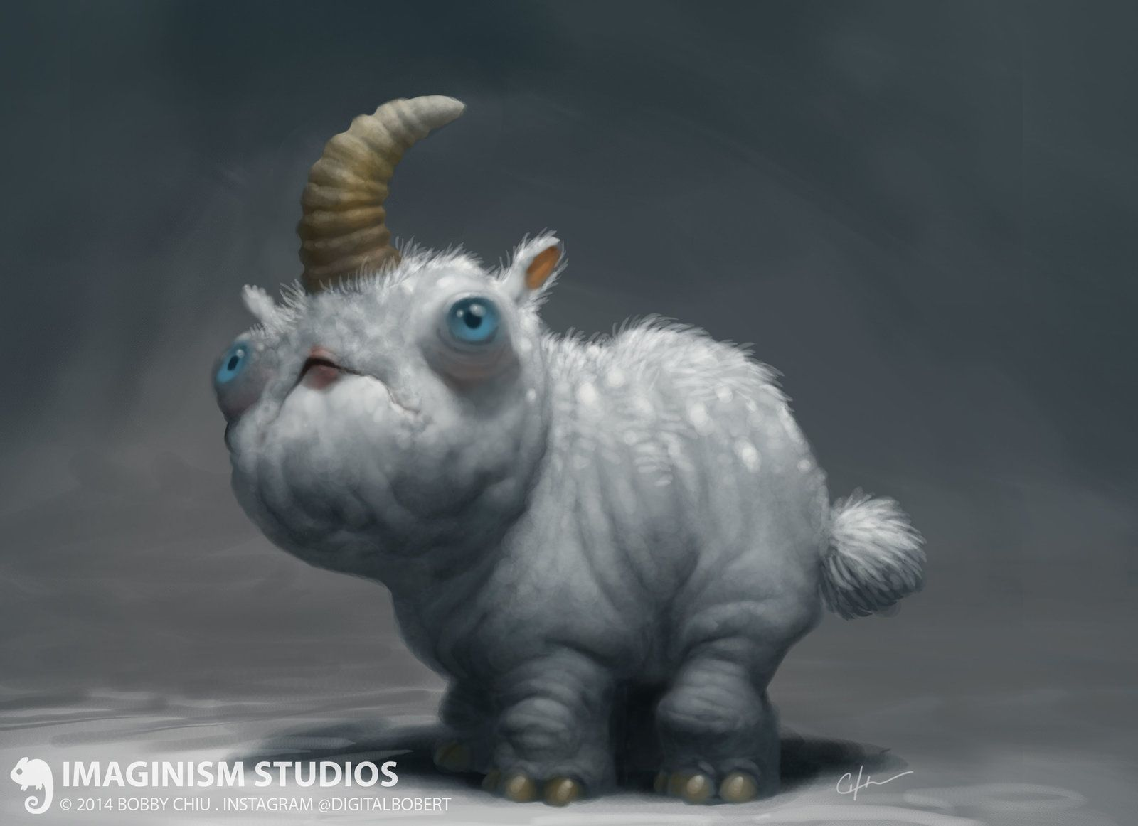 A Different Kind of Unicorn, Bobby Chiu on ArtStation at https://www.artstation.com/artwork/a-different-kind-of-unicorn