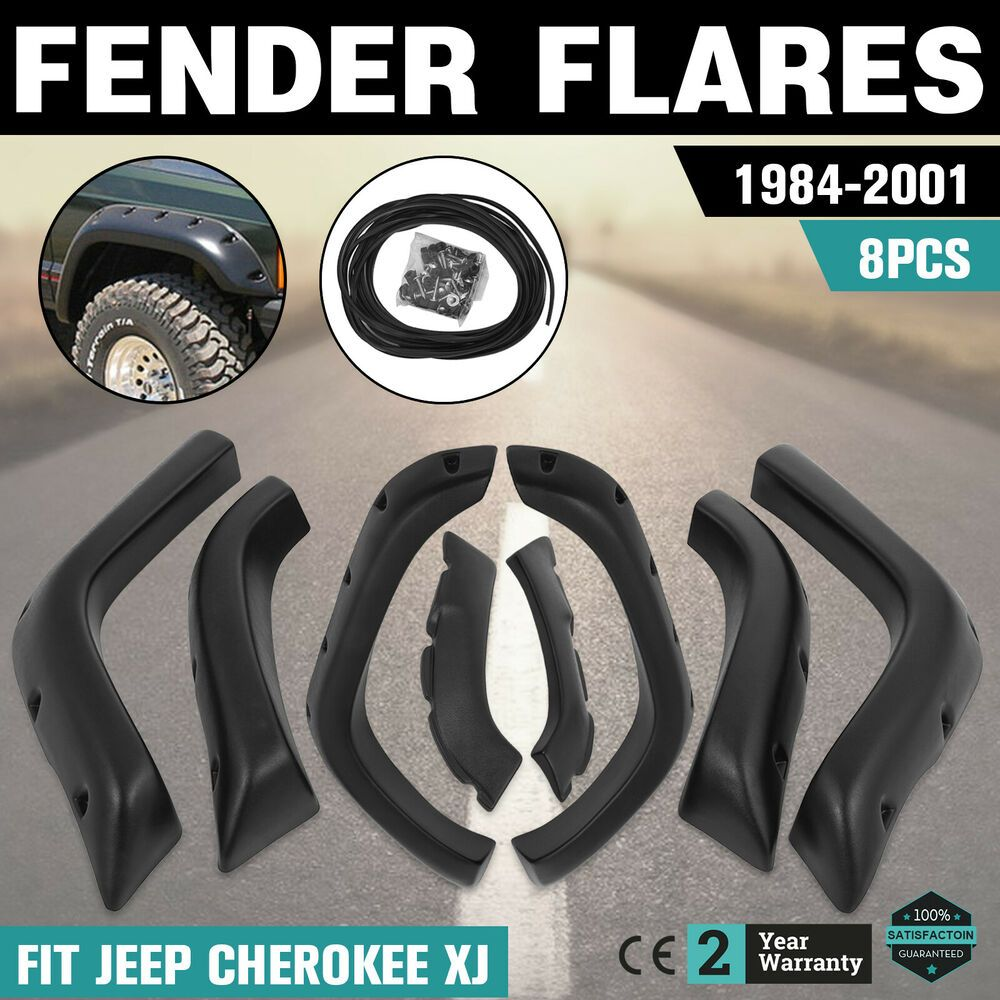 Ebay Sponsored For Jeep Cherokee Xj 1984 2001 Fender Flares Accessory Included Dura Car And Truck Parts Accessories Parts And Accessories Motors In 2019