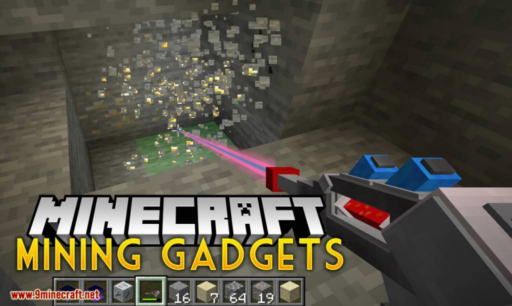 Mining Gadgets Mod 1 14 4 Download Miinecraft Org Minecraft Minecraftmods Minecraftdownload In 2020 Gadgets Minecraft Mods Mod
