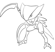 Kabutops Coloring Page Coloring Pages Free Coloring Pages Free Printable Coloring Pages