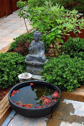 Peaceful Spot Buddha Garden Zen Garden Design Japanese Garden