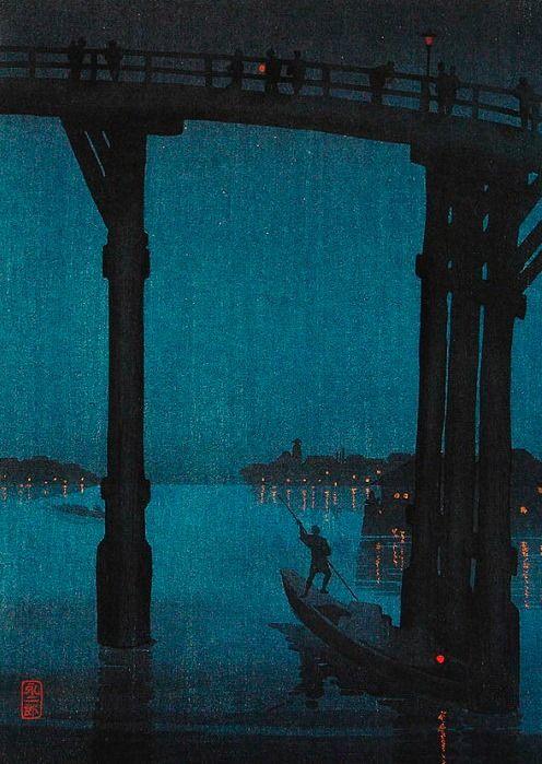 High Bridge - Kobayashi Eijiro ~ 1910 - 1930.