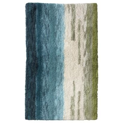 Threshold  Ombre Bath Rug Coordinating with the seafoam sink without being  a perfect match I want this exact color  for my laundry room floor please  AT  . Target Bath Mat Runner. Home Design Ideas