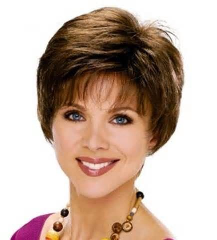 Short Haircuts For Women Over 50 Back View Bing Images