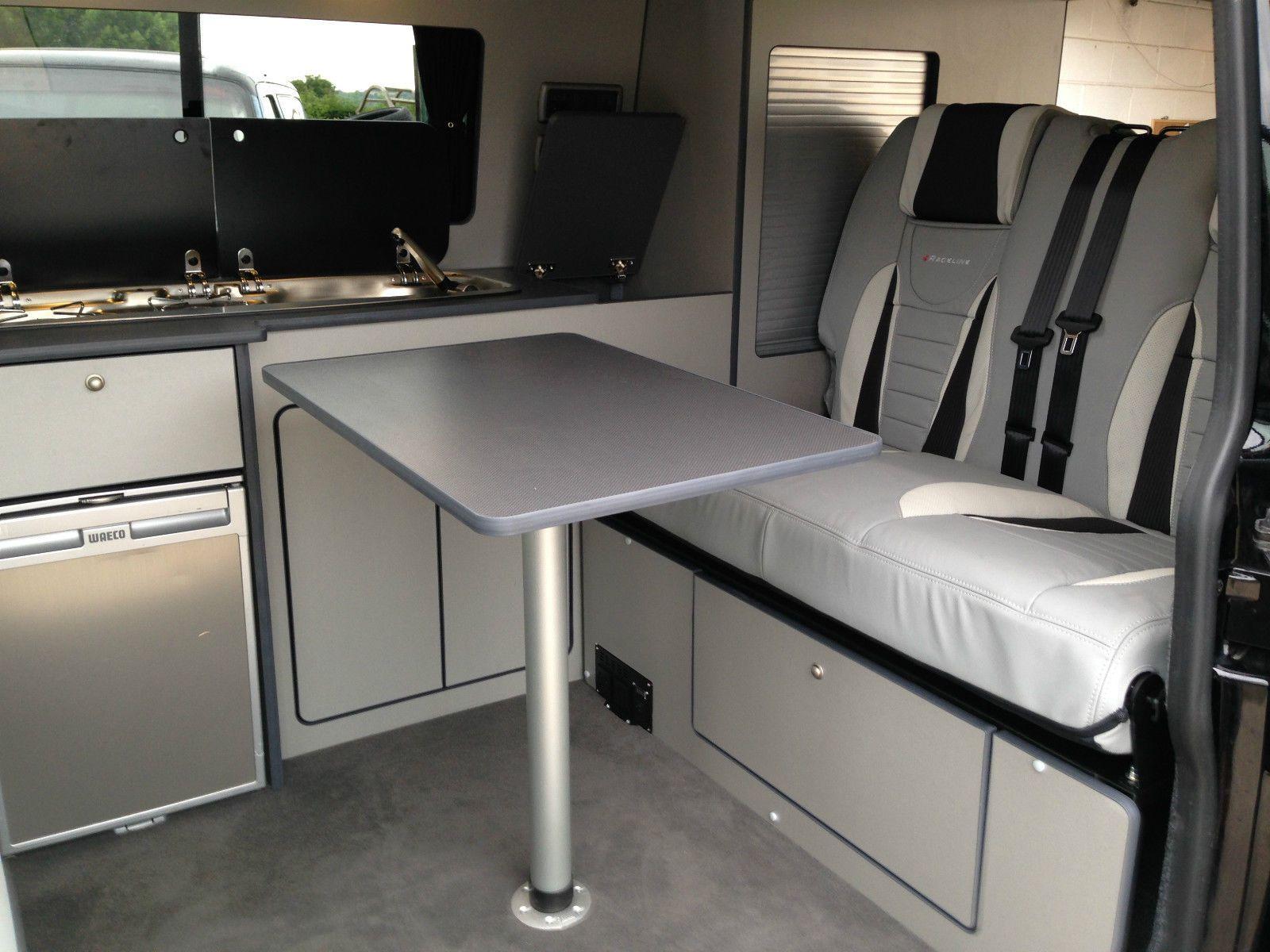 VW T6 Lightweight Flatpack Campervan Kitchen Unit - Majestic Wood