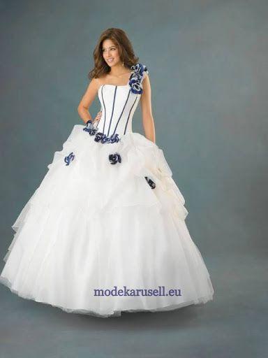 fehér kék menyasszonyi ruha - Google keresés  85b7c57a14