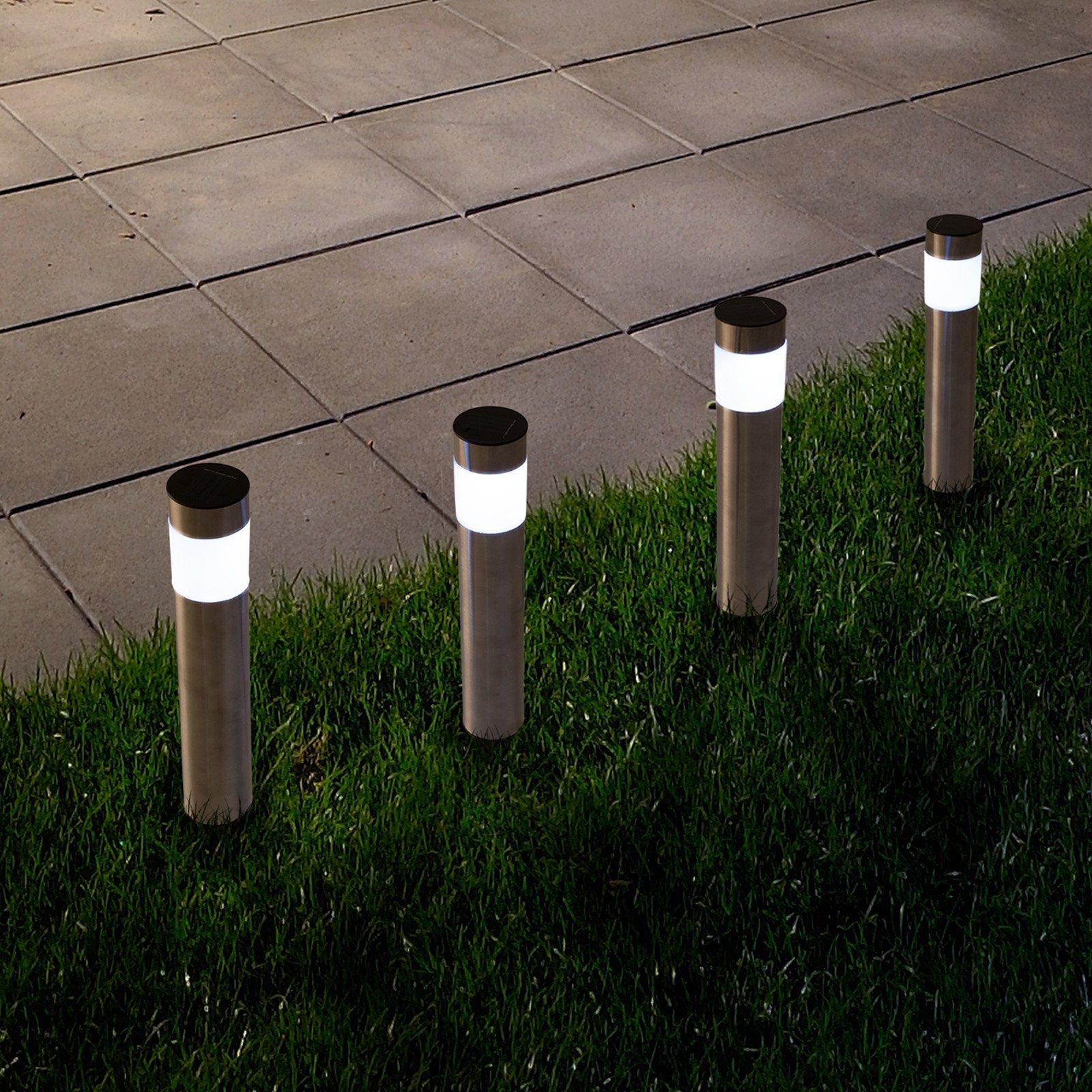 Pure Garden Solar Outdoor Led Pathway Lights Products In