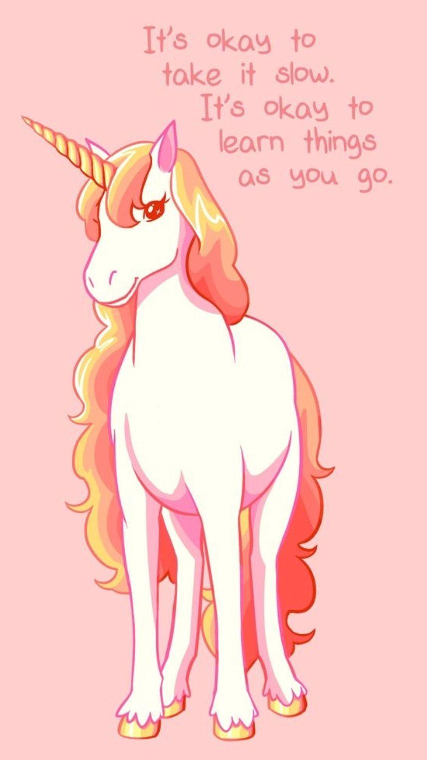 Unicorn  Inspirational animal quotes, Cute animal quotes, Animal