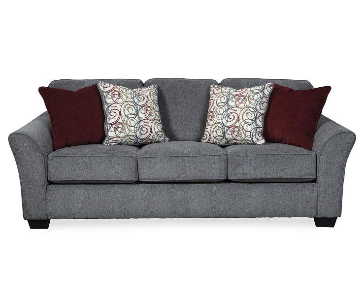 Signature Design By Ashley Idlebrook Gray Sofa | Big Lots ...
