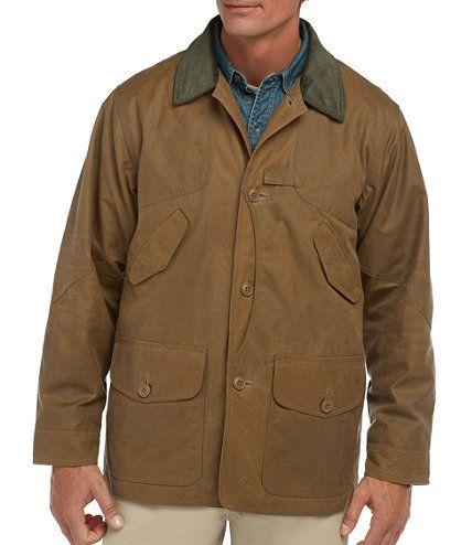 9870c29e81b L.L.Bean waxed canvas field coat