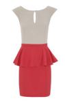 Faldas y vestidos con volante opeplum