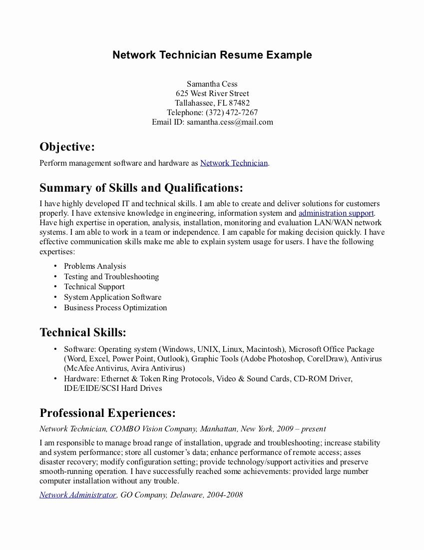 50 New Pharmacy Technician Resume Template In 2020 Resume