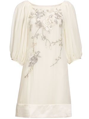 Monsoon Do A Fabulous Range Of Shorter Length Wedding Dresses The Hardy Tunic Is One Their Best