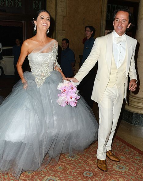 Wedding Stuff Real Housewives Of Miami Star Adriana De Moura Marries Frederic Marq At The Coral