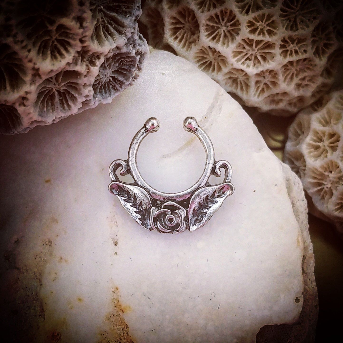 Nose accessories without piercing   Get  off all body jewellery with code PINTEREST at
