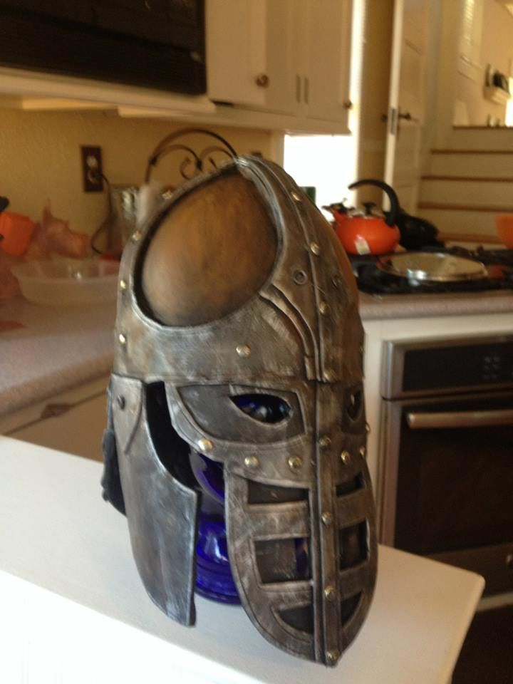 Eva foam skyrim guard helmet once upon a time costume ideas eva foam skyrim guard helmet pronofoot35fo Image collections