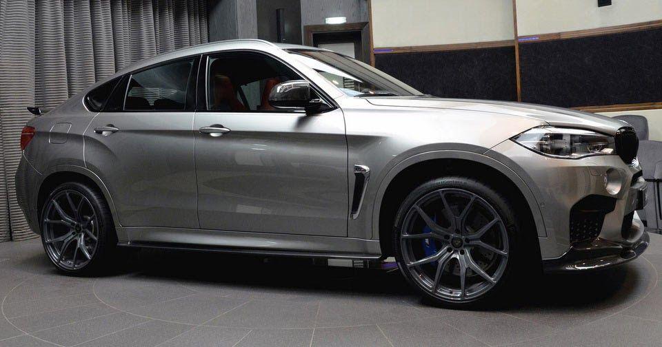 Bmw X6 M Gets A Makeover At Abu Dhabi Dealership Carscoops Bmw X6 Dream Cars Bmw Bmw Wheels