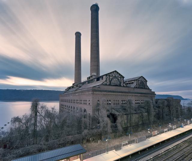 Railroad Power Station, Glenwood NY. Photo by John Sanderson