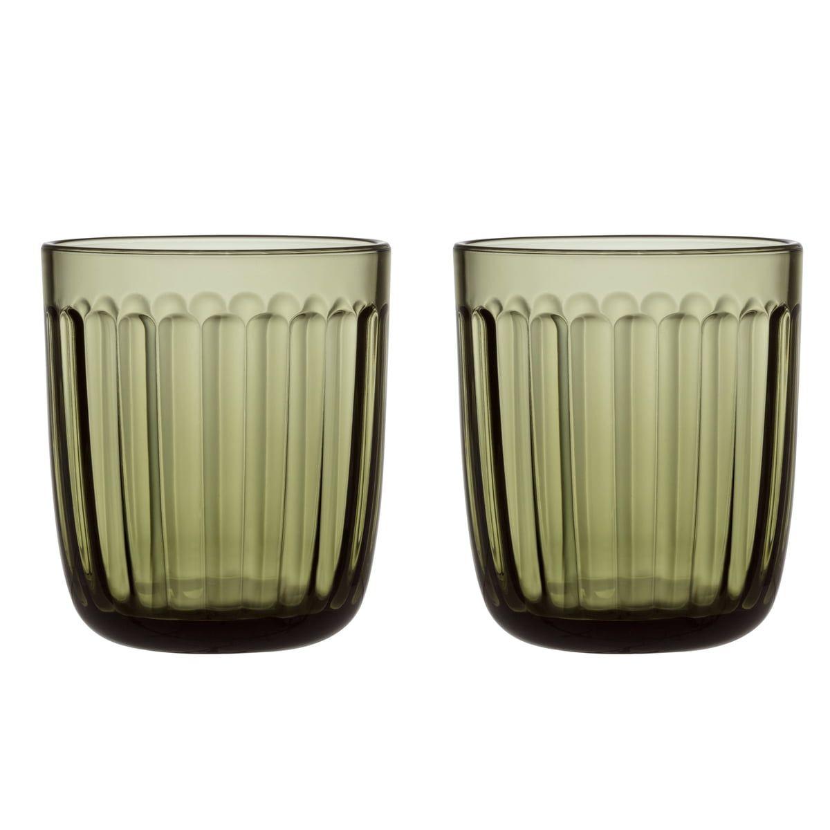 Iittala Raami Trinkglas 26 Cl Moosgrun 2er Set In 2020 Trinkglas Glas Und Geschirr
