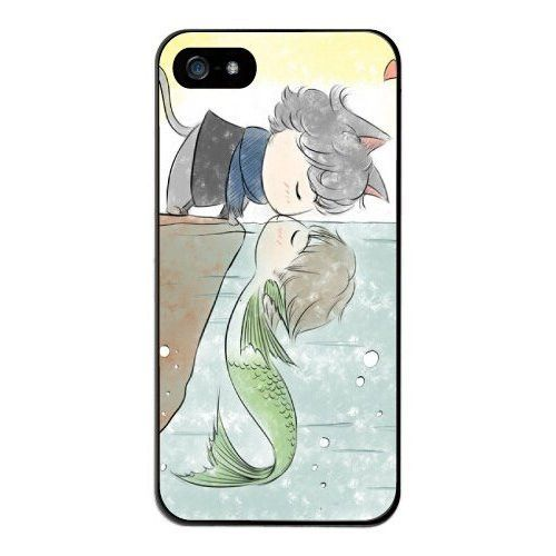 Cat And Fish In Love Hard Back Case Cover for iPhone 6 (4.7 inch)