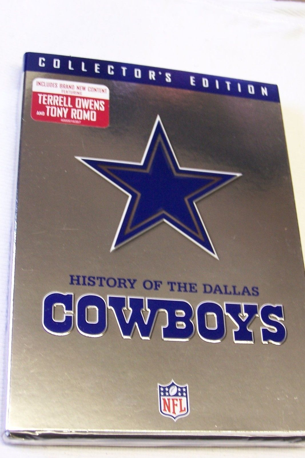History Of Dallas Cowboys Collector S Edition 2 Dvd Set New