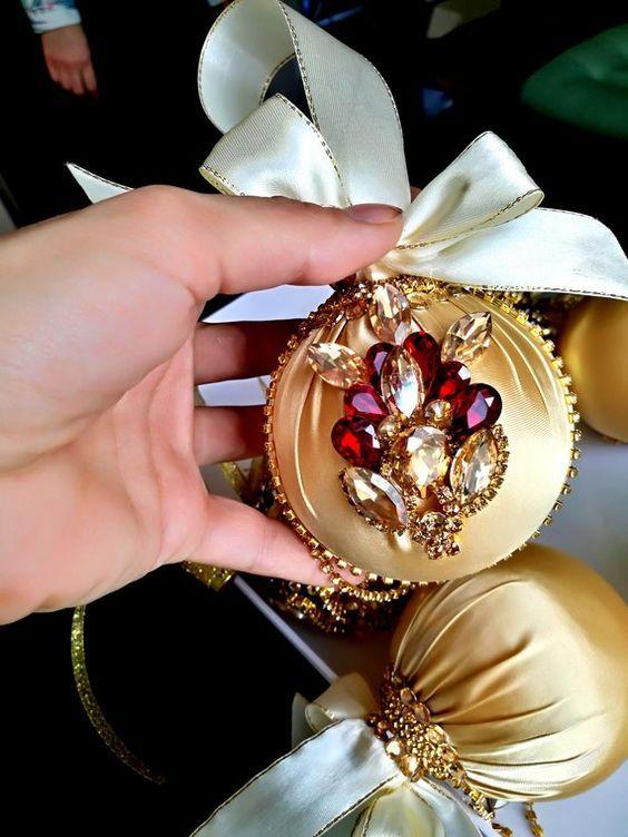 Photo of Como hacer esferas navideñas modernas – Con unicel, con nombre y
