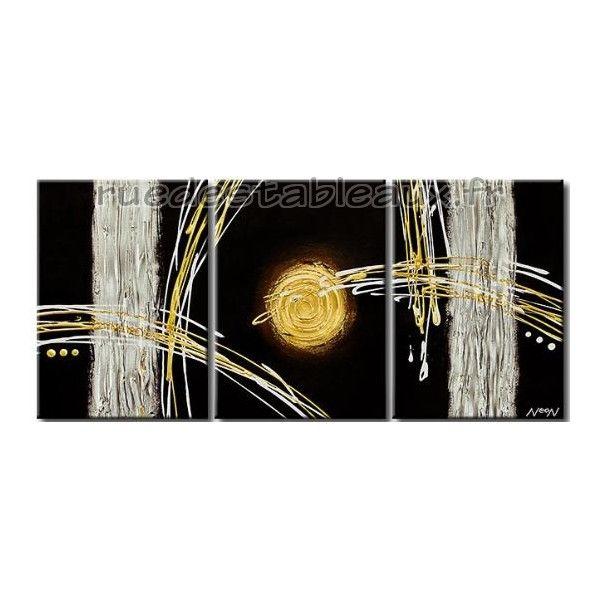 tableaux abstrait peinture sur toile pas cher tableaux zen. Black Bedroom Furniture Sets. Home Design Ideas