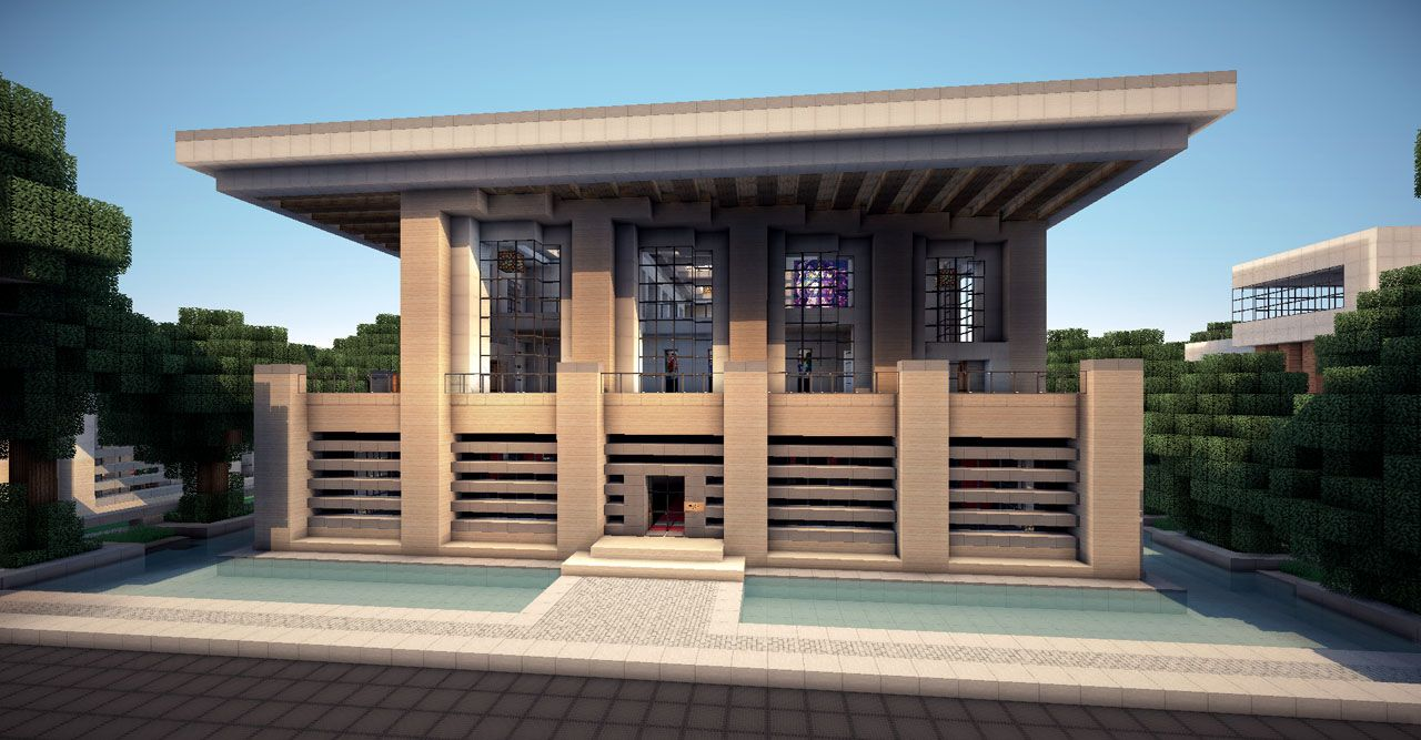 modern house minecraft tips – modern house