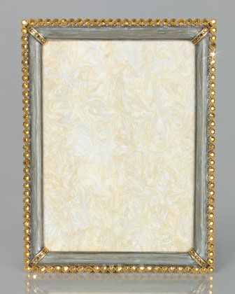 Jay Strongwater Enamel & Stone Edge 8 x 10 Frame | Jay strongwater ...