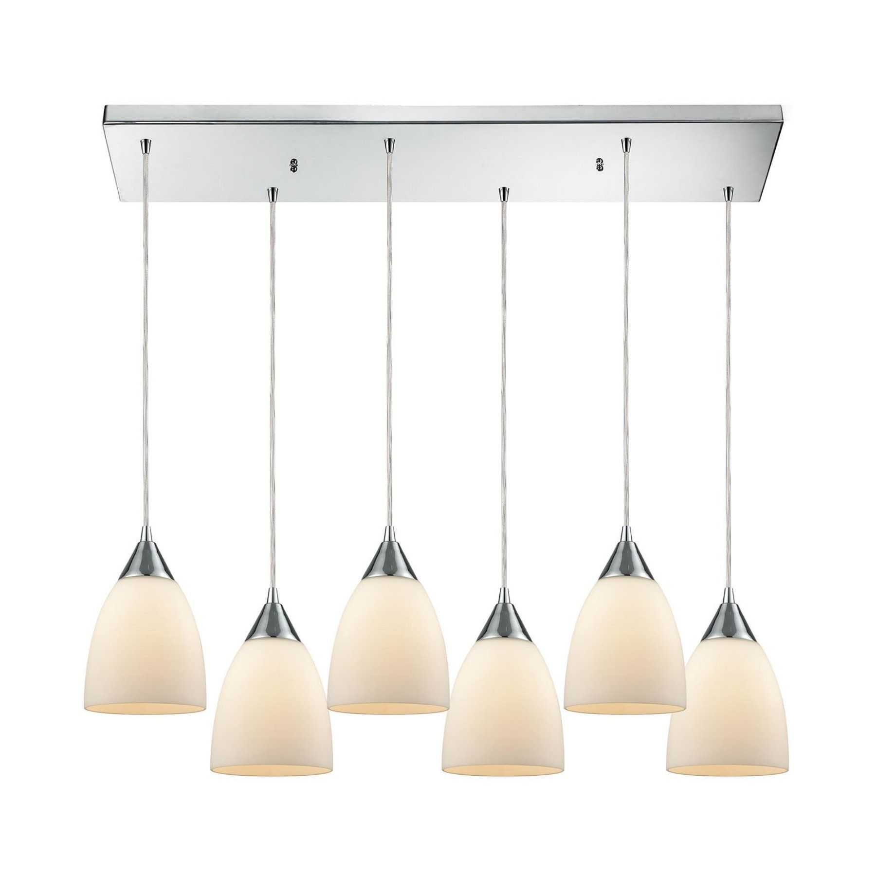 ELK Lighting 565 Merida 6 Light Pendant Light - 56520/6RC