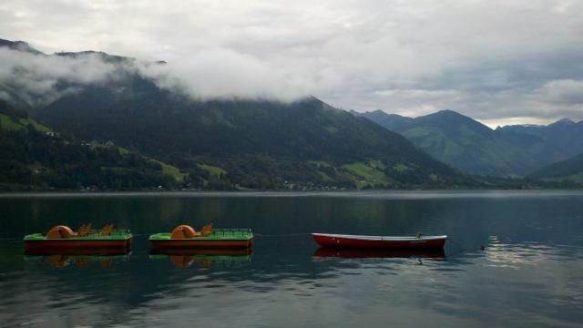 Zell am See, Austria -- I wanna go back there as well !! @SamarAbdelRaouf