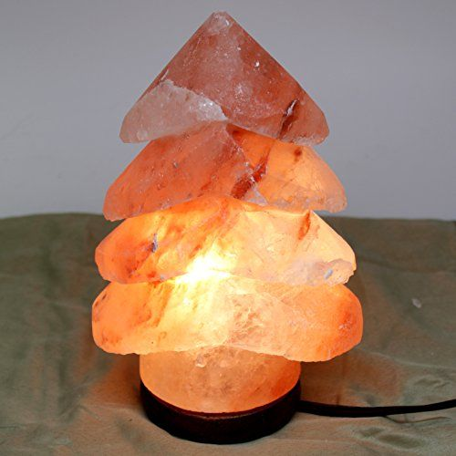 Genuine Himalayan Hand Crafted Rock Salt Lamp Christmas Tree Read More At The Image Link Salt Lamp Salt Rock Lamp Himalayan Salt Lamp