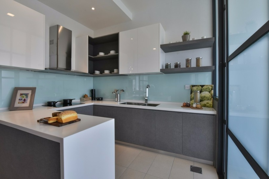 14 Practical Wet And Dry Kitchens In Malaysia Recommend My Interior Design Kitchen Kitchen Design Kitchen Interior