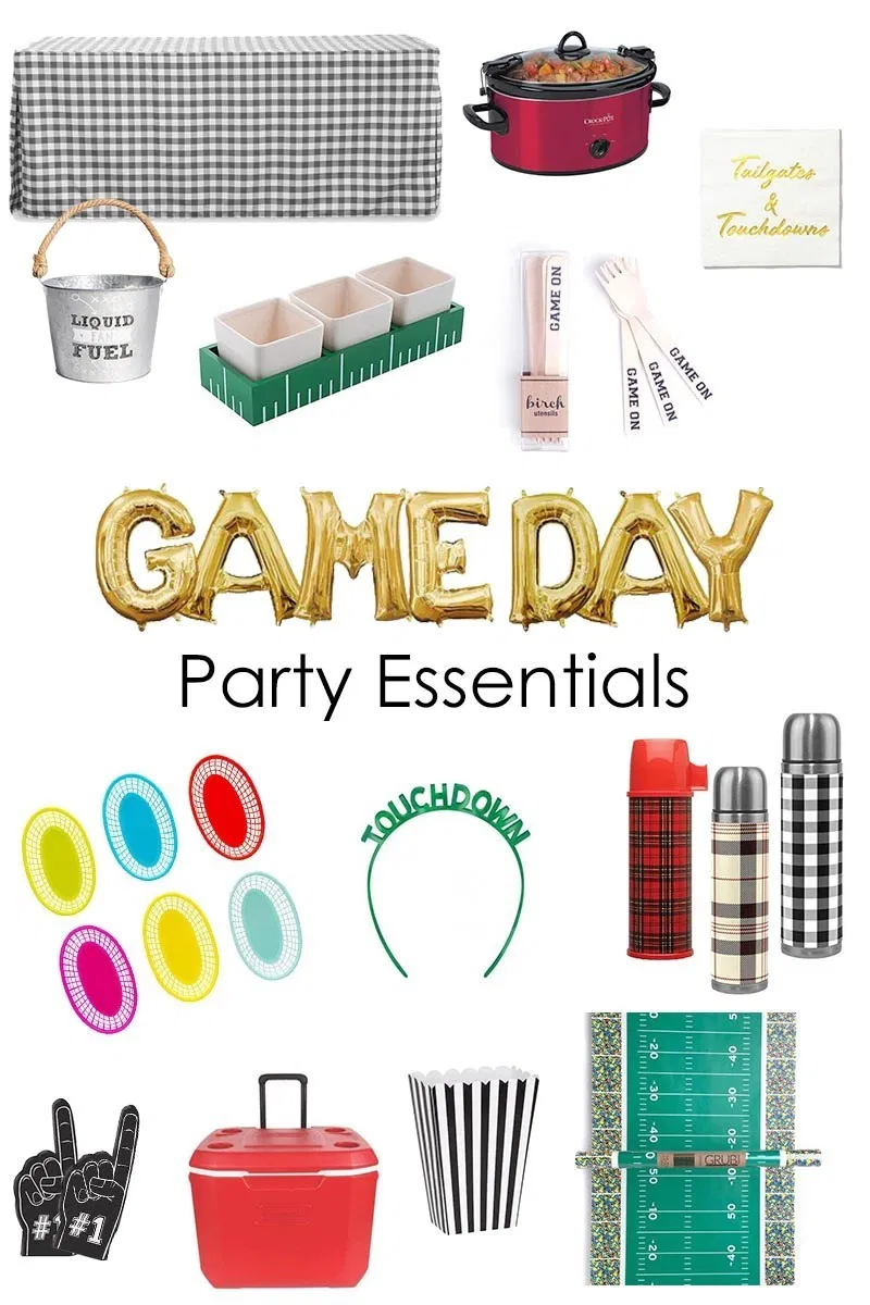 Game Day Party Essentials In 2020 Party Essential Gameday Party Party