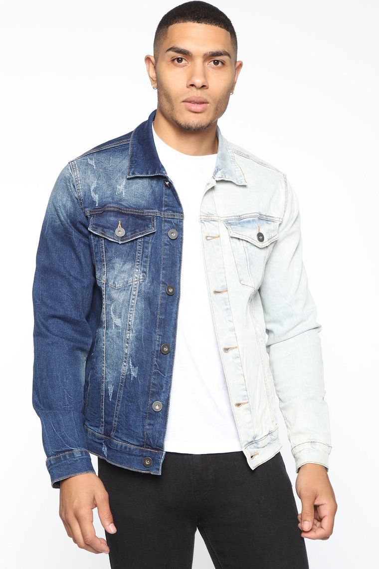20 Fashion Nova Men Outfits To Copy Rn Society19 In 2020 Denim Jacket Denim Fashion Hooded Denim Jacket