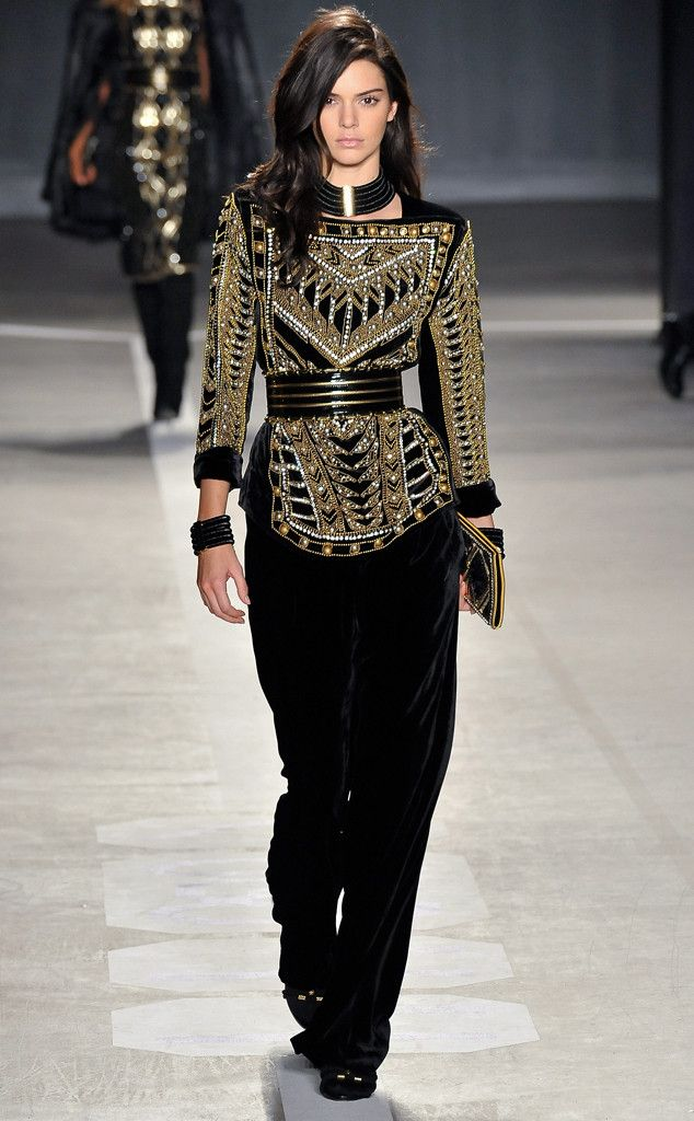 Kendall Jenner Steals the Show at Balmain for H\u0026M\u0027s Runway